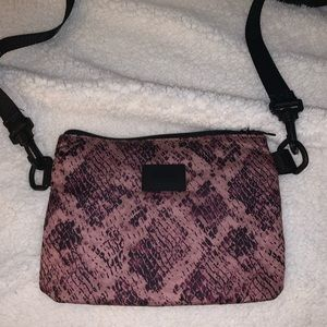 PINK Small Athletic Messenger Bag